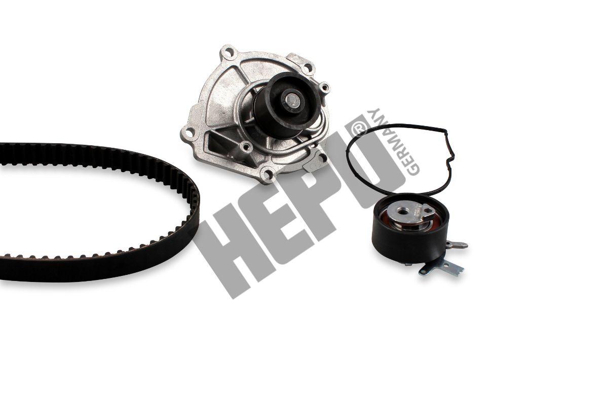 HEPU  PK17241 Bomba de agua + kit correa distribución Ancho: 25mm