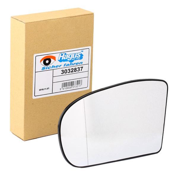 Außenspiegelglas 3032837 VAN WEZEL 3032837 in Original Qualität