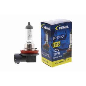 Крушка с нагреваема жичка, фар за мъгла H16, PGJ 19-3, 19ват, 12волт, Original VEMO Quality V99-84-0079