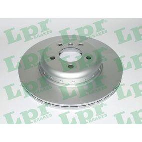 Brake Disc Brake Disc Thickness: 24,2mm, Rim: 5-Hole, Ø: 345mm with OEM Number 3420 6797 607