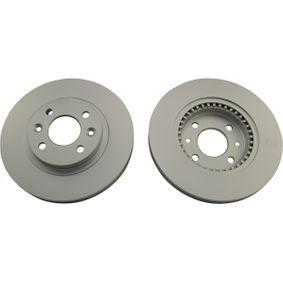 Bremsscheibe Bremsscheibendicke: 20mm, Lochanzahl: 4, Ø: 259mm, Ø: 259mm mit OEM-Nummer 7701205653