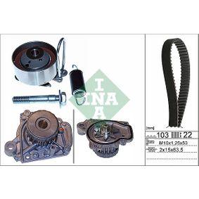 Honda Civic eu7 1.4iS (EP1) Wasserpumpe + Zahnriemensatz INA 530 0505 31 (1.4 iS Benzin 2005 D14Z5)
