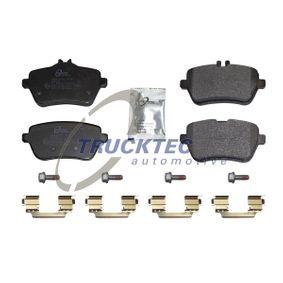 TRUCKTEC AUTOMOTIVE  02.35.510 Kit de plaquettes de frein, frein à disque