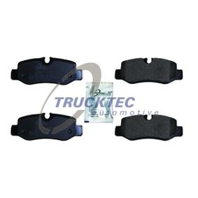 TRUCKTEC AUTOMOTIVE  02.35.517 Bremsbelagsatz, Scheibenbremse