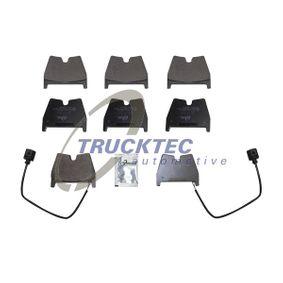 Brake Pad Set, disc brake with OEM Number 8U0698151J