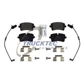 Kit de plaquettes de frein, frein à disque avec OEM numéro 4H0 698 451 D