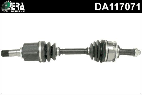 ERA Benelux  DA117071 Drive Shaft Length: 610mm, Outer teething wheel side: 28