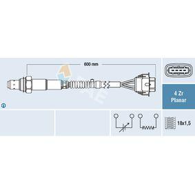Lambdasonde Kabellänge: 600mm mit OEM-Nummer 99660613801