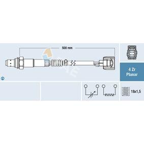 Lambdasonde Kabellänge: 500mm mit OEM-Nummer 56029085 AA