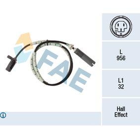 Sensor, Raddrehzahl mit OEM-Nummer 3452 6 760 425