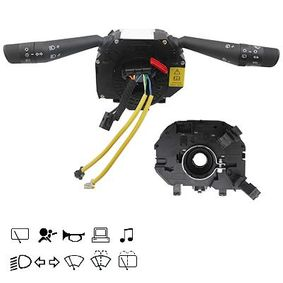 Steering Column Switch Number of connectors: 36, with light dimmer function, with wipe-wash function, with horn, with rear wipe-wash function, with wipe interval function, with board computer function, with radio control function, with high beam function with OEM Number 735521315