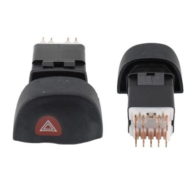 MEAT & DORIA  23568 Steering Column Switch with hazard light system function, with high beam function, with light dimmer function, with rear wipe-wash function, with wipe interval function, with wipe-wash function