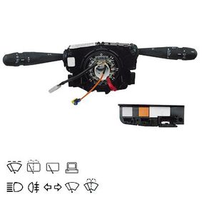 Steering Column Switch with board computer function, with high beam function, with light dimmer function, with rear fog light function, with rear wipe-wash function, with wipe interval function, with wipe-wash function with OEM Number 98072680ZD
