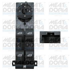 Switch, window regulator 26048 Focus 2 (DA_, HCP, DP) 1.6 TDCi MY 2010