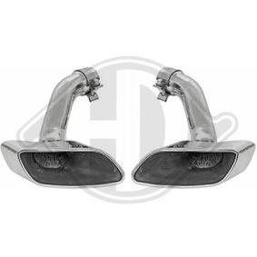 Deflector tubo de escape 4129500 BMW X6 (E71, E72)
