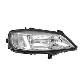 Hauptscheinwerfer für Fahrzeuge mit Leuchtweiteregelung (elektrisch), für Fahrzeuge ohne Leuchtweiteregelung, für Rechtsverkehr mit OEM-Nummer 12 16 156