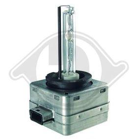 Glühlampe, Fernscheinwerfer D1S (Gasentladungslampe), 35W, 12V, 85V, Xenon LID10002 VW GOLF, PASSAT, TIGUAN