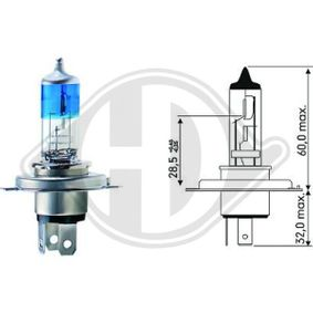 Glühlampe, Fernscheinwerfer mit OEM-Nummer 09247140