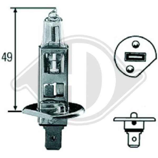 Glühlampe, Fernscheinwerfer DIEDERICHS LID10012 Bewertung