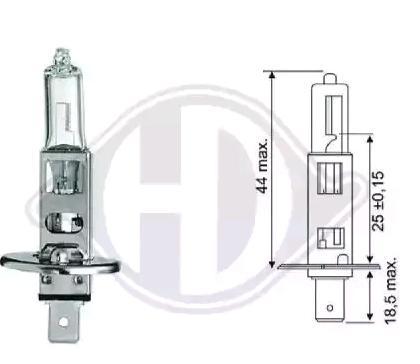 Bulb, spotlight LID10013 DIEDERICHS 12258 original quality
