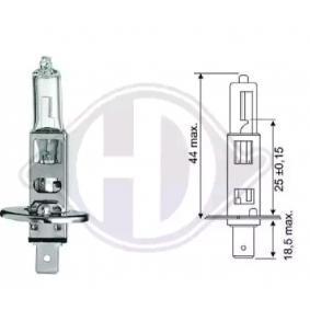 Bulb, spotlight H1, 55W, 12V LID10013 MERCEDES-BENZ C-Class, E-Class, S-Class