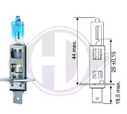 Glühlampe, Fernscheinwerfer LID10014 DIEDERICHS H1 in Original Qualität