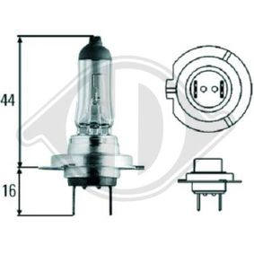 Glühlampe, Fernscheinwerfer H7, 55W, 12V LID10018 VW GOLF, PASSAT, POLO