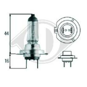 Bulb, spotlight H7 12V 55W PX26d 4000K Halogen LID10018 FORD FOCUS, FIESTA, MONDEO