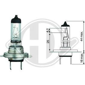 Glühlampe, Fernscheinwerfer mit OEM-Nummer N400809 000007
