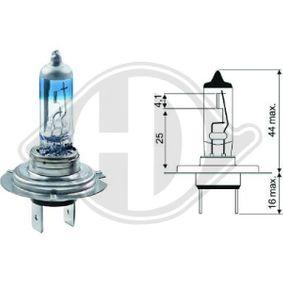 Bulb, spotlight H7, 55W, 12V LID10020 MERCEDES-BENZ C-Class, E-Class, A-Class