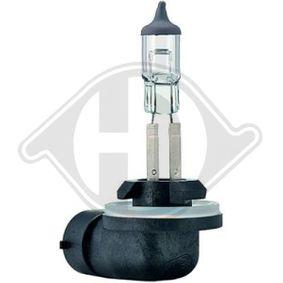 Bulb, headlight H27W/2, PGJ13, 27W, 12V LID10076
