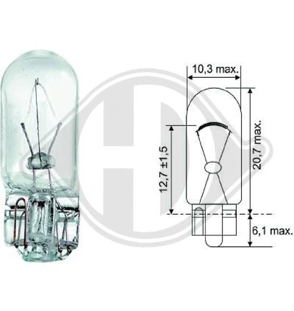 DIEDERICHS  LID10078 Bulb, indicator