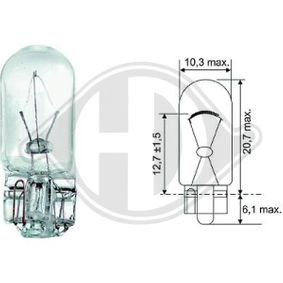 Крушка с нагреваема жичка, мигачи LID10078 25 Хечбек (RF) 2.0 iDT Г.П. 2001