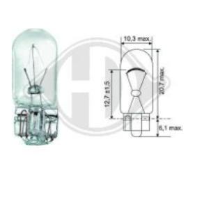 Bulb, indicator W5W, W2,1x9,5d, 12V, 5W LID10078