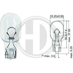 Крушка с нагреваема жичка, мигачи W16W, W2,1x9,5d, 12ват, 16ват LID10089