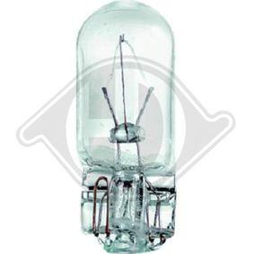 Bulb, indicator 12V 3W, W3W, W2,1x9,5d LID10090 VW GOLF, PASSAT, TIGUAN