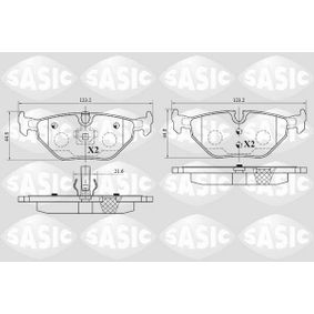 Bremsbelagsatz, Scheibenbremse Dicke/Stärke: 16mm mit OEM-Nummer 3421 1164 501
