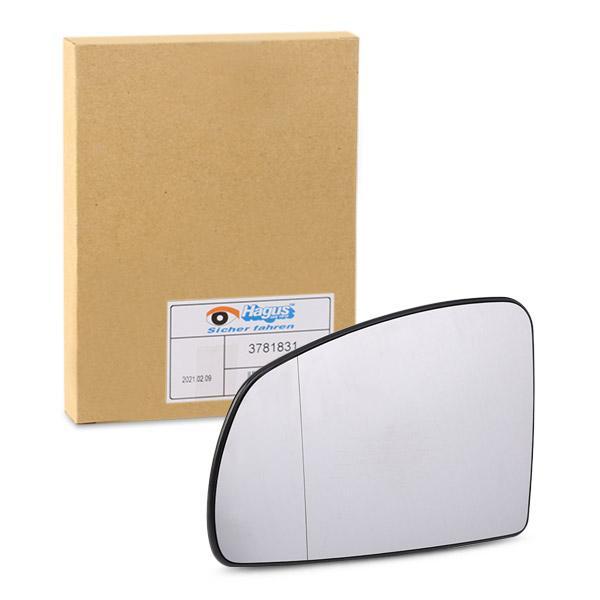 Van Wezel 3781831 cristal espejo enlaces exterior para Opel Meriva