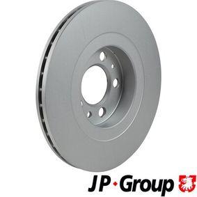 Bremsscheibe Bremsscheibendicke: 22mm, Lochanzahl: 5, Ø: 256mm mit OEM-Nummer JZW 615 301 N
