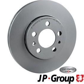 Bremsscheibe Bremsscheibendicke: 22mm, Lochanzahl: 5, Ø: 256mm mit OEM-Nummer 1JE615301