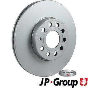 Bremsscheibe Bremsscheibendicke: 25mm, Lochanzahl: 5, Ø: 288mm mit OEM-Nummer JZW 615 301J