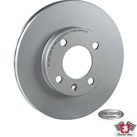 JP GROUP  1163110000 Bremsscheibe Bremsscheibendicke: 20mm, Lochanzahl: 4, Ø: 239mm