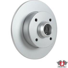 Bremsscheibe Bremsscheibendicke: 10mm, Lochanzahl: 4, Ø: 226mm mit OEM-Nummer 191 501 639A