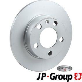 Bremsscheibe Bremsscheibendicke: 9mm, Lochanzahl: 5, Ø: 230mm mit OEM-Nummer 1JE615601