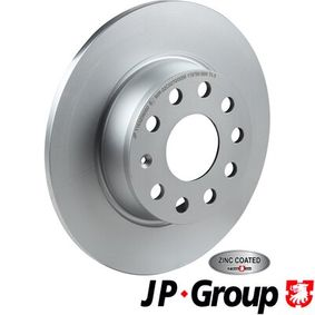 Bremsscheibe Bremsscheibendicke: 10mm, Lochanzahl: 5, Ø: 272mm mit OEM-Nummer 1K0615601AA