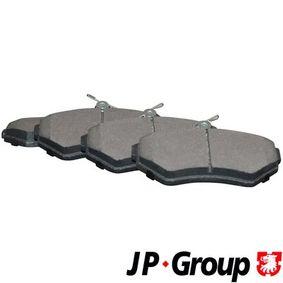Bremsbelagsatz, Scheibenbremse Dicke/Stärke: 16,2mm mit OEM-Nummer 1HM 698 151A
