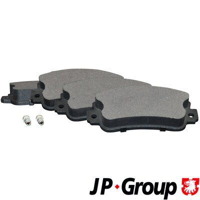 JP GROUP  1163608710 Bremsbelagsatz, Scheibenbremse Dicke/Stärke: 18mm