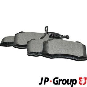 JP GROUP  1163609210 Bremsbelagsatz, Scheibenbremse Dicke/Stärke: 15mm