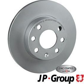 JP GROUP Disco de travão 1263104700 com códigos OEM 93182290