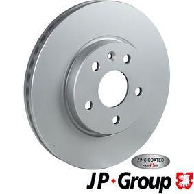 Bremsscheibe Bremsscheibendicke: 26mm, Lochanzahl: 5, Ø: 276mm mit OEM-Nummer 509069